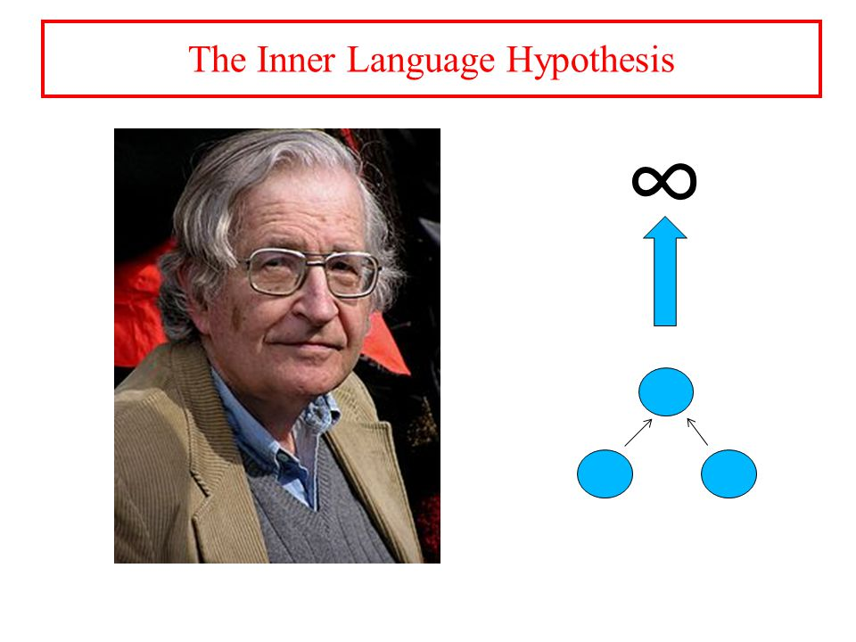 ∞ The Inner Language Hypothesis