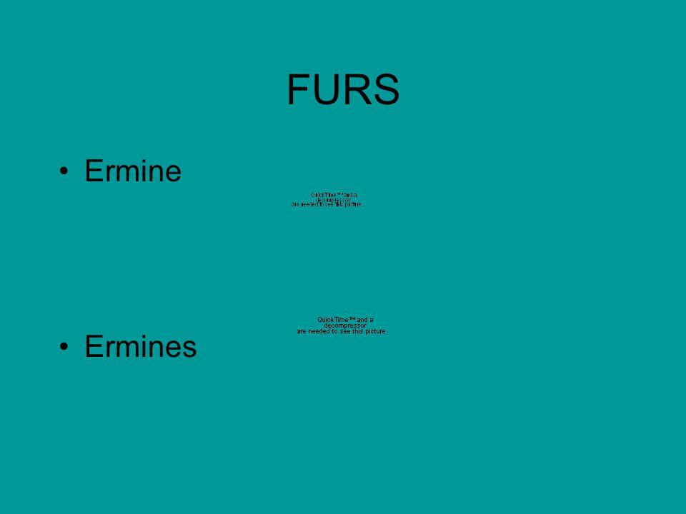 FURS Ermine Ermines