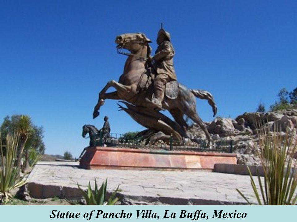 Statue of Pancho Villa, La Buffa, Mexico