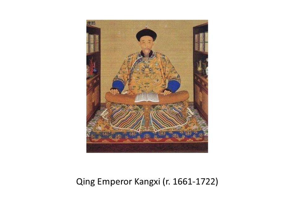 Qing Emperor Kangxi (r. 1661-1722)