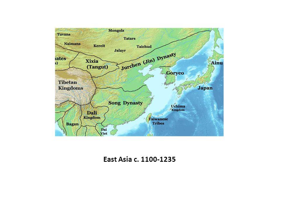 East Asia c. 1100-1235