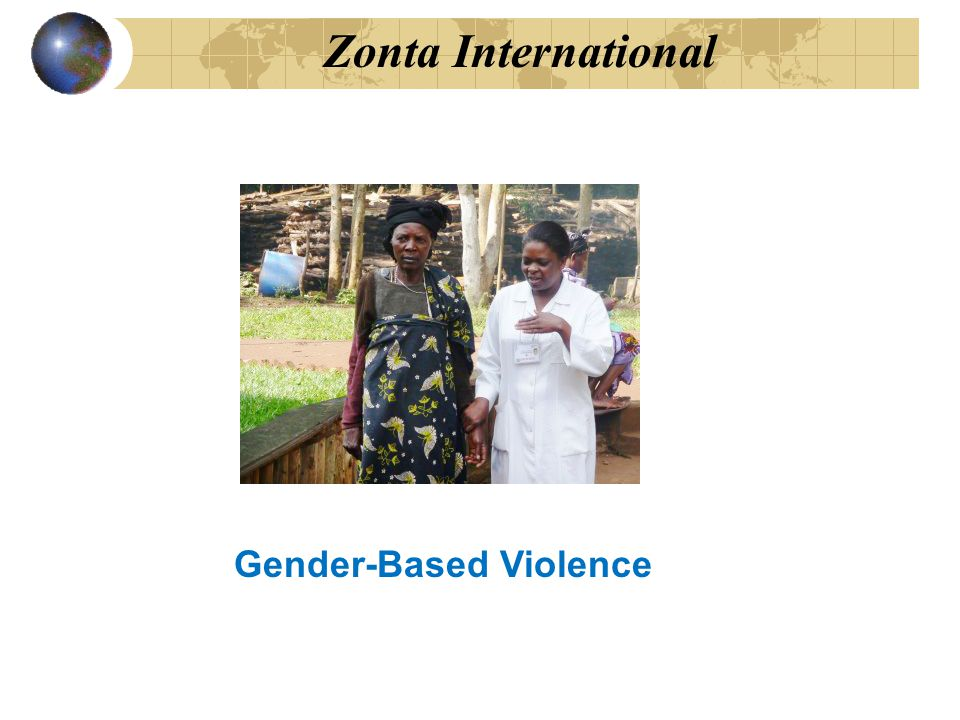 Zonta International After the genocide and war, Rwanda was largely a country of vulnerable women and children.