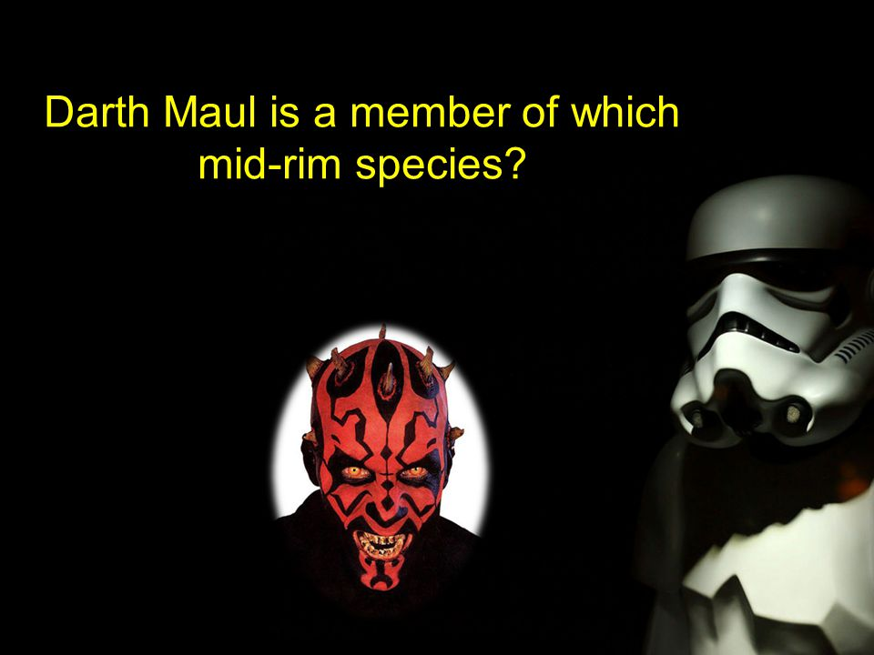 Darth Maul is a member of which mid-rim species?