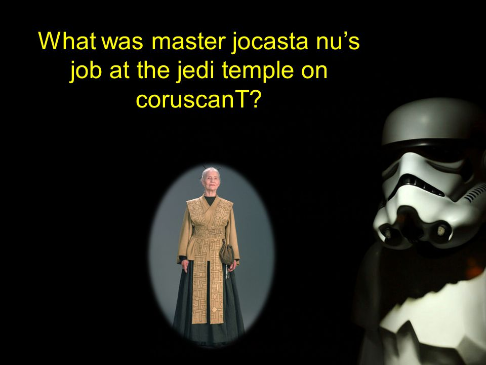 What was master jocasta nu's job at the jedi temple on coruscanT?