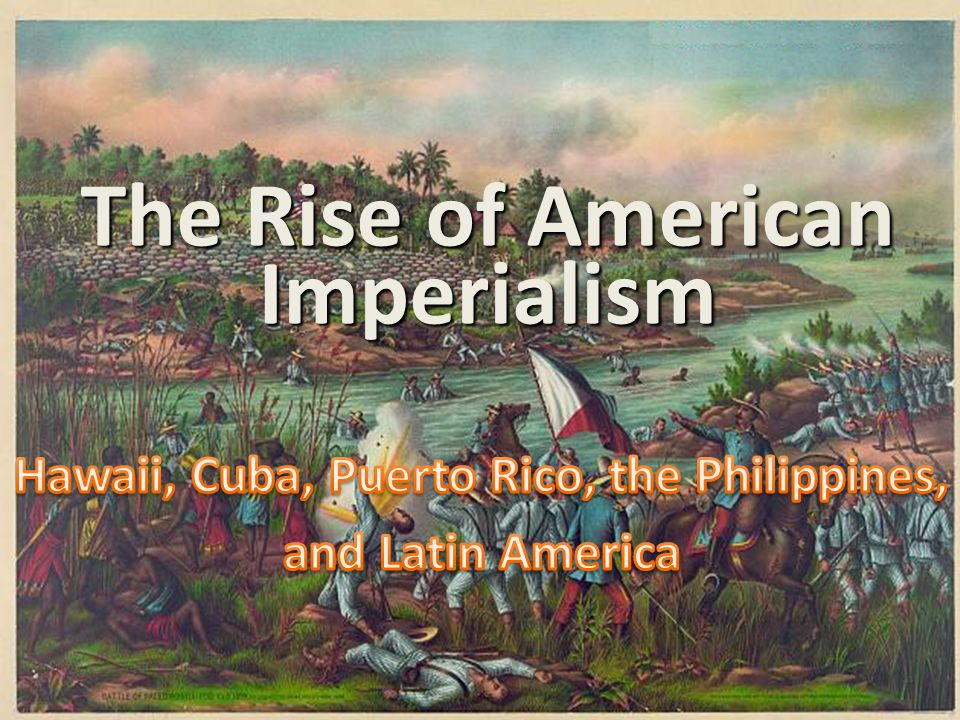 ■Essential Question: –How did America's role in the world change by 1900.