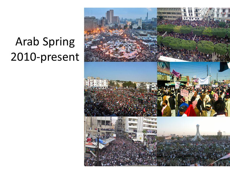 Arab Spring 2010-present