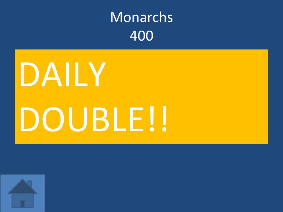 Monarchs 400 Q: What did Louis XIV's Edict of Fontainebleau do.