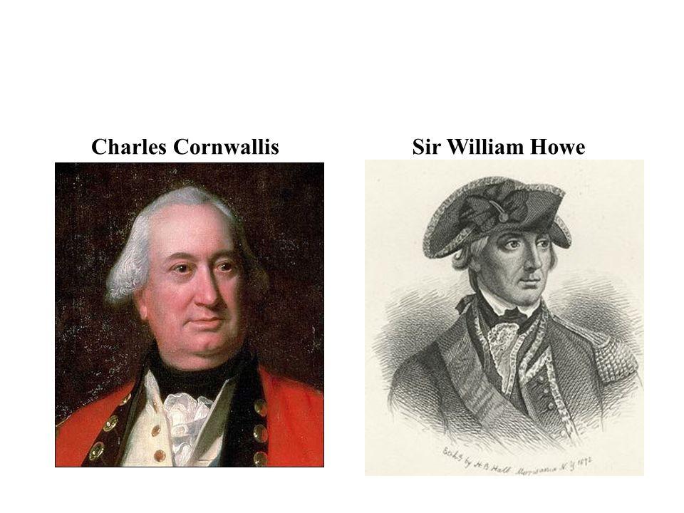 Charles CornwallisSir William Howe