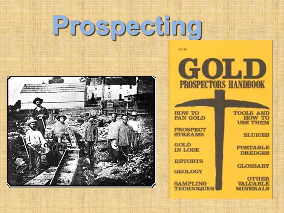 ProspectingProspecting