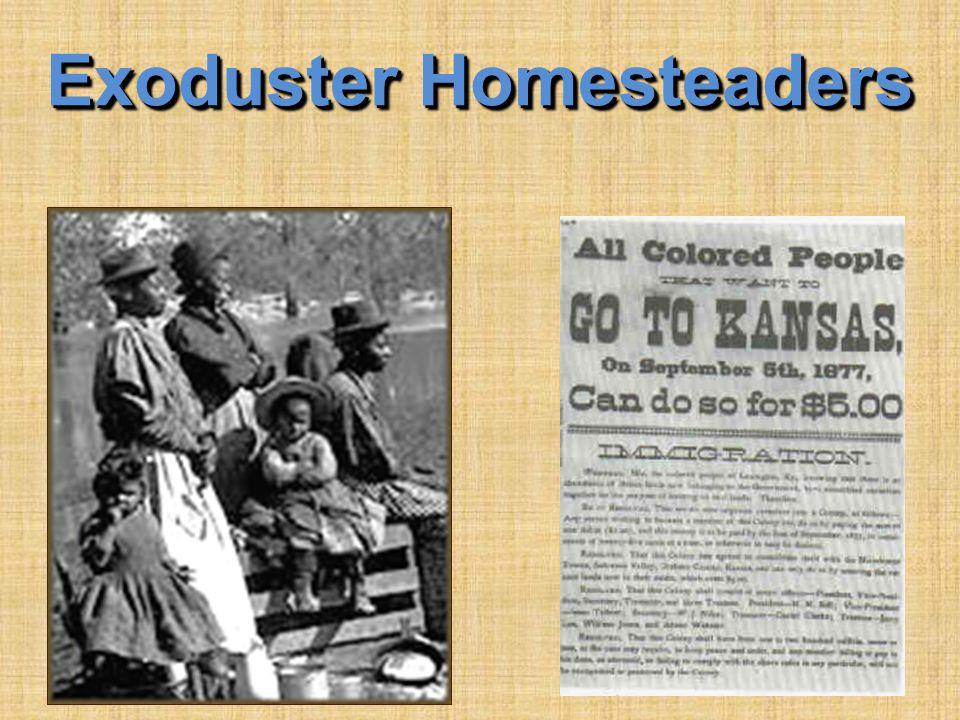 Exoduster Homesteaders