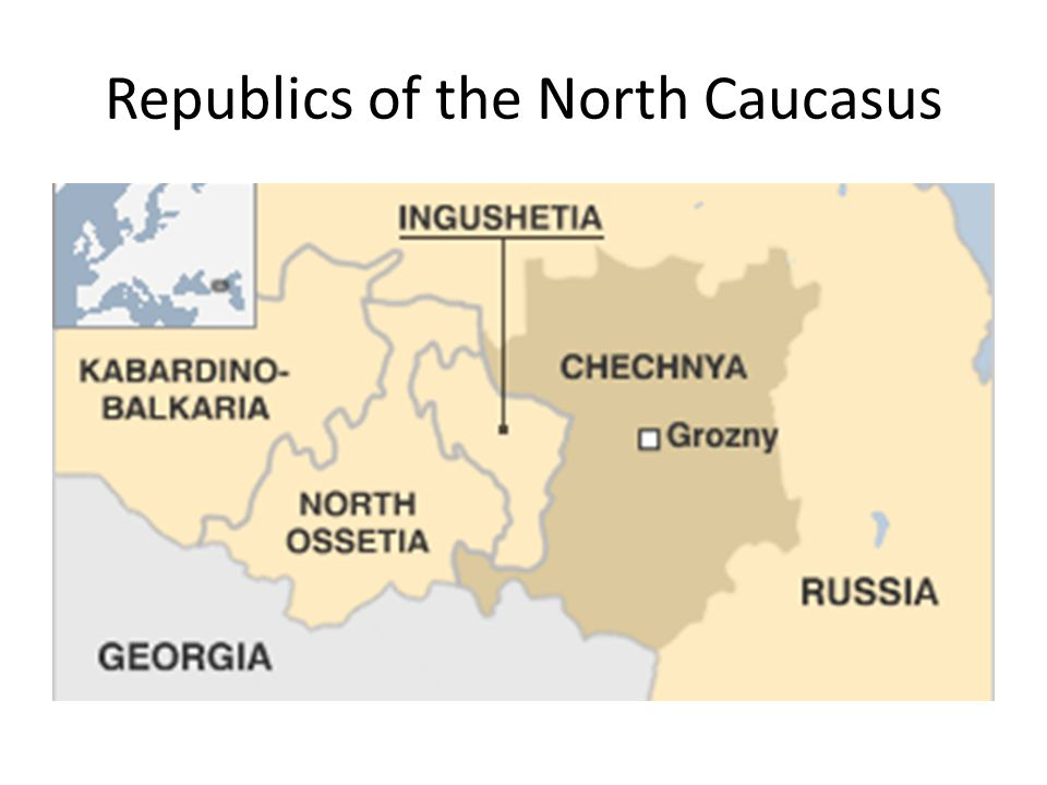 Republics of the North Caucasus