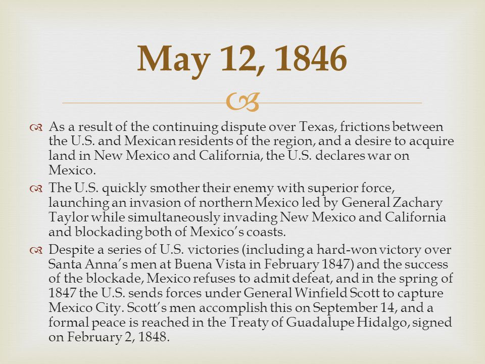   Defeat in the war against the United States serves as a catalyst for a new era of reform in Mexico.