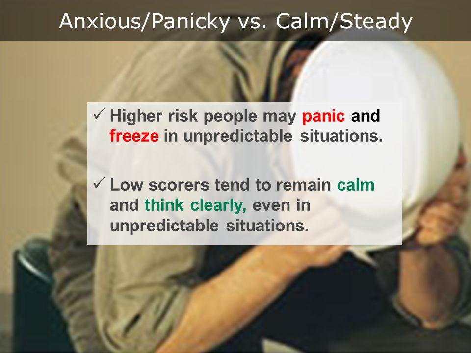 Anxious/Panicky vs.