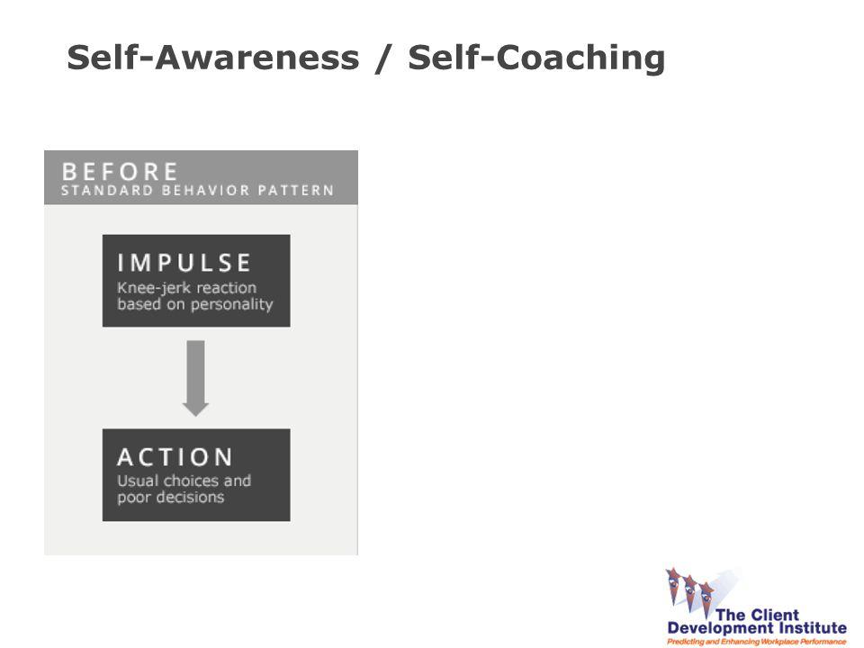 Self-Awareness / Self-Coaching