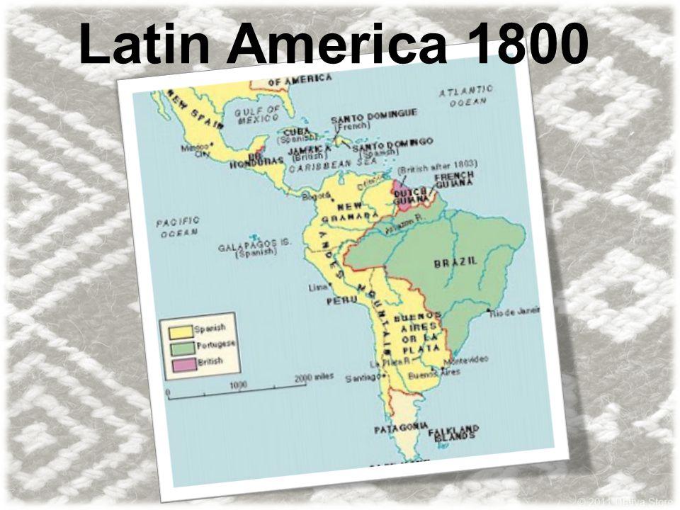 Latin America 1800