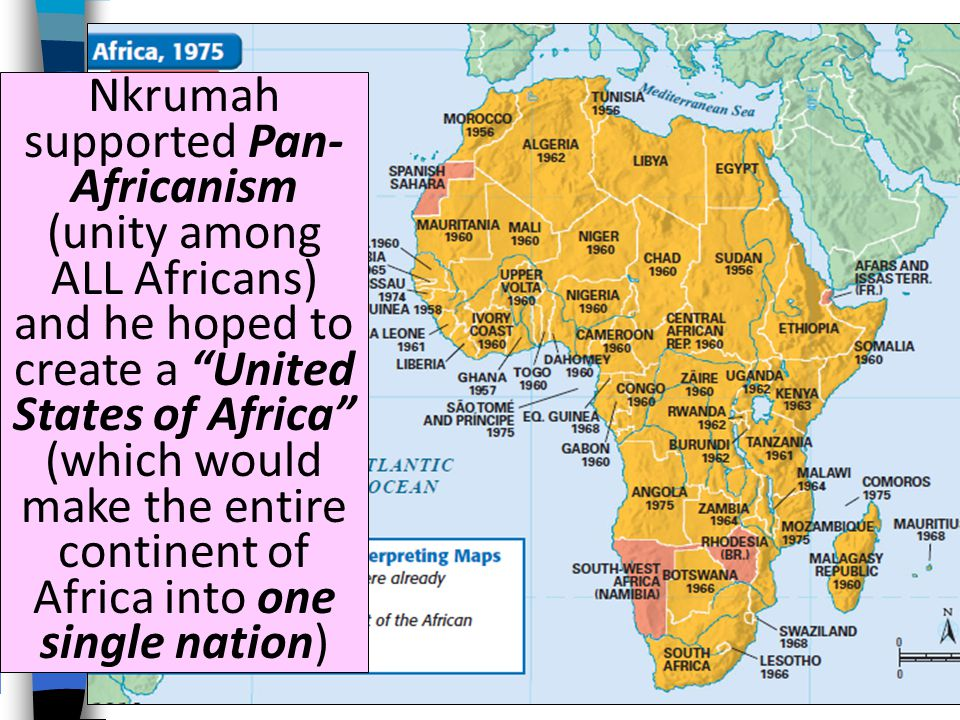 After a decade of struggle, Britain granted Gold Coast independence in 1957 and the nation was renamed Ghana Kwame Nkrumah was elected president-for-life and began an ambitious series of construction projects, education, and health programs