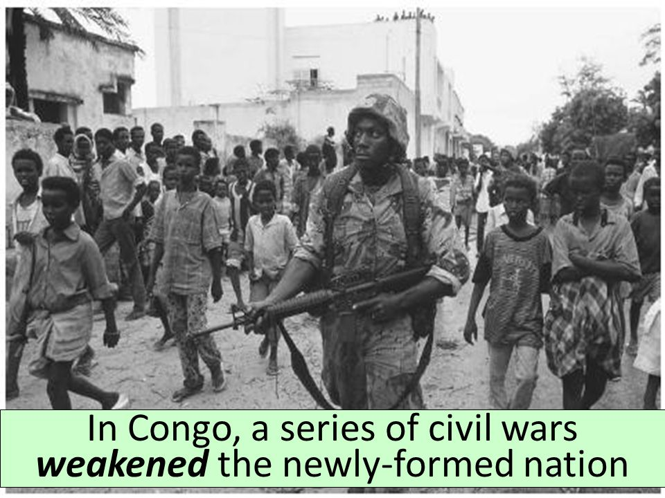 After gaining independence, Nigeria erupted in an ethnic civil war