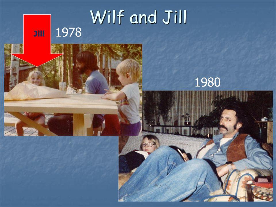 Wilf and Jill 1980 1978 Jill