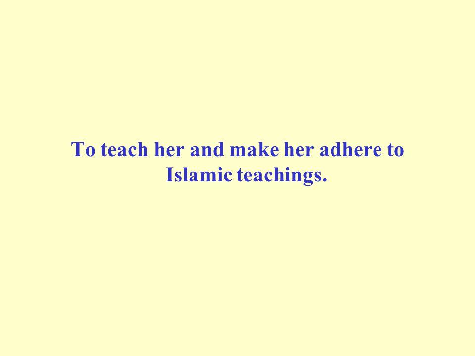 Making a sacrifice (`Aqiqah) on their births: The Prophet (SAWS) said: A boy is in pledge for his `Aqiqah.