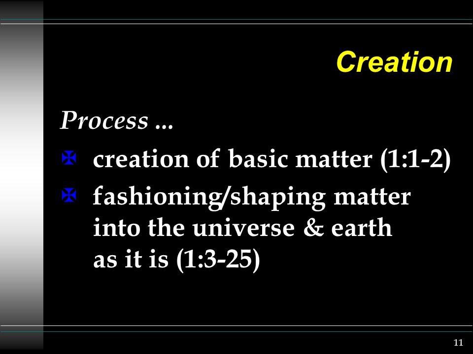 11 Creation Process...