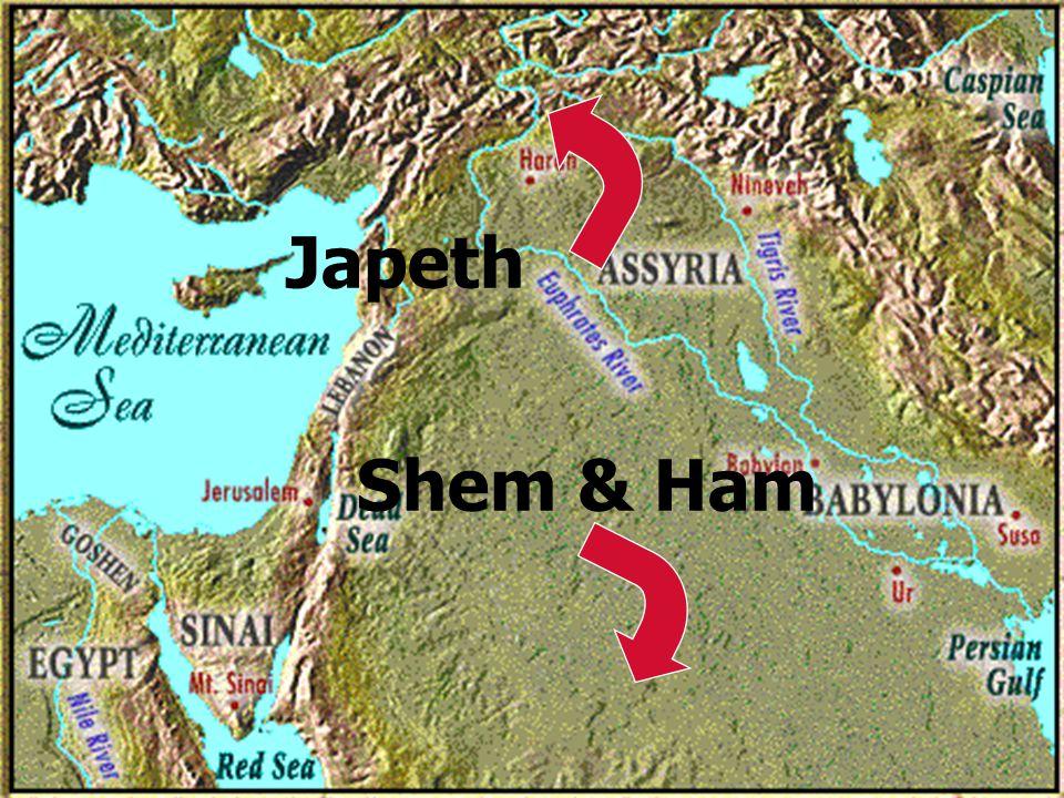 29 Japeth Shem & Ham