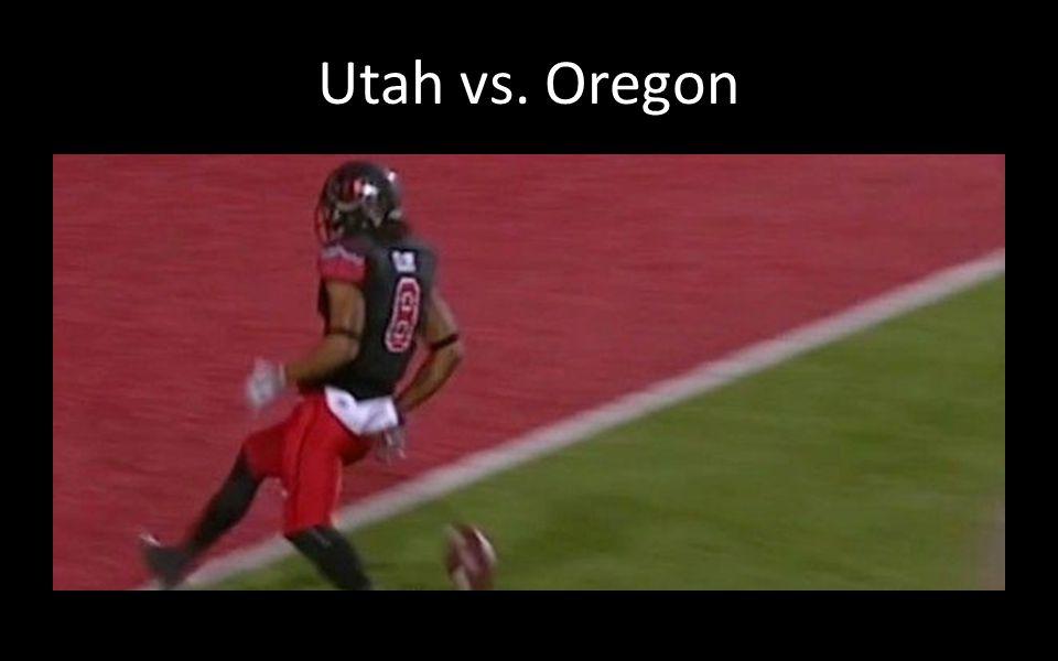 Utah vs. Oregon