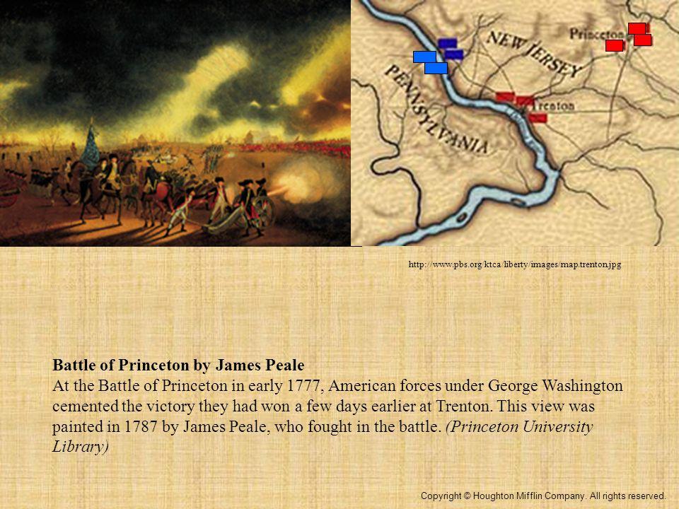 Battle of Trenton, Christmas 1776 http://www.britishbattles.com/images/trenton/trenton-map-l.jpg