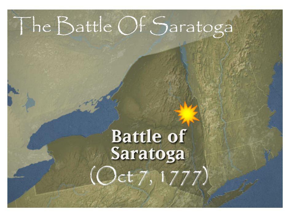 (Oct 7, 1777) The Battle Of Saratoga