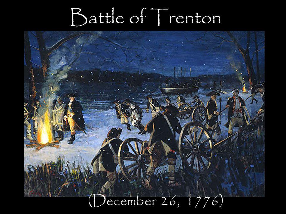 Battle of Trenton (December 26, 1776)