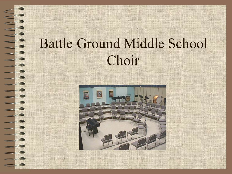 Battle Ground Middle School Choir