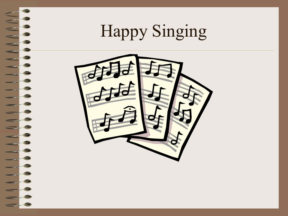 Happy Singing
