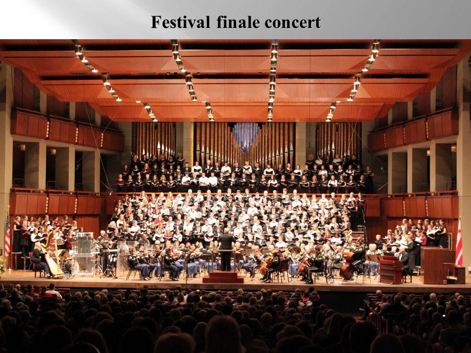 Festival finale concert