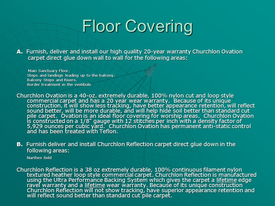 Floor Covering A.