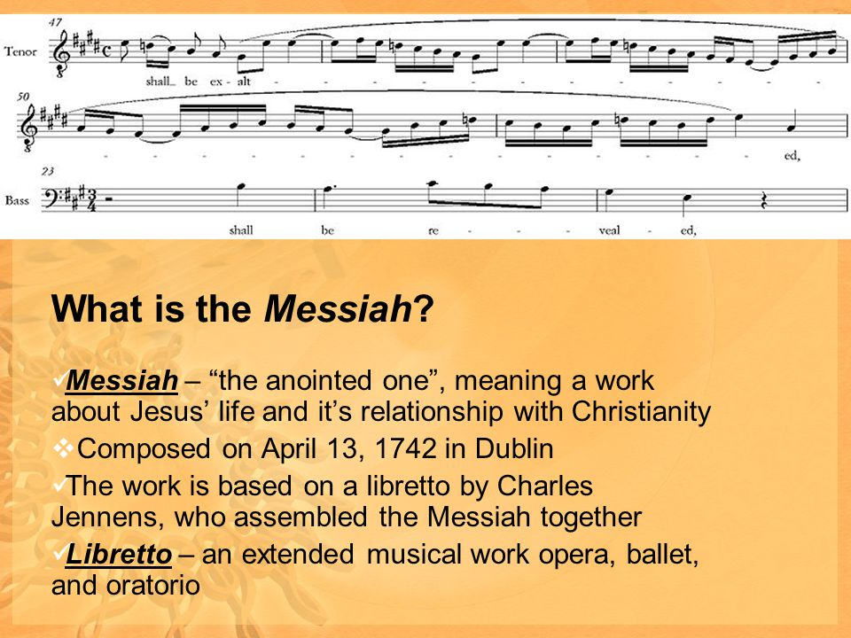 What is the Messiah.