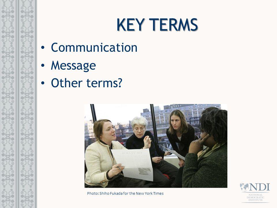 EFFECTIVE COMMUNICATION Communication is two-way: Talking Listening SenderReceiver Feedback Message