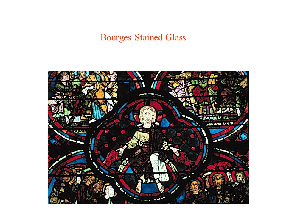 Bourges Stained Glass