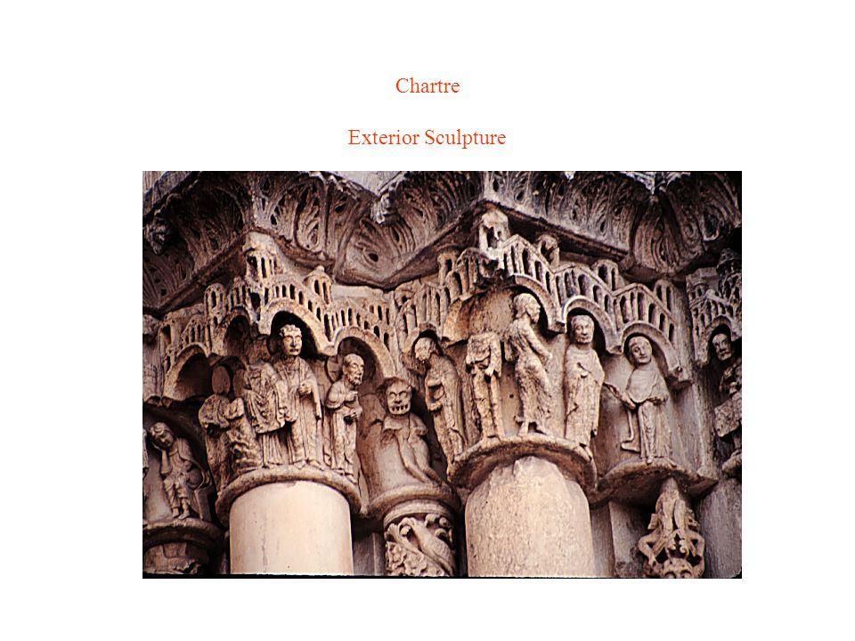 Chartre Exterior Sculpture