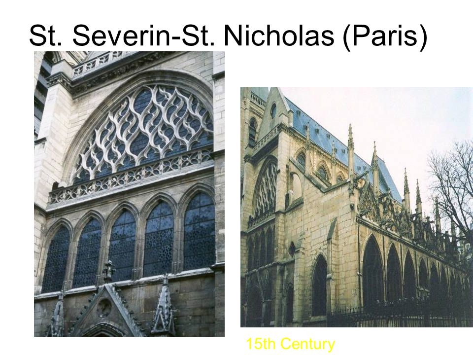 St. Severin-St. Nicholas (Paris) 15th Century