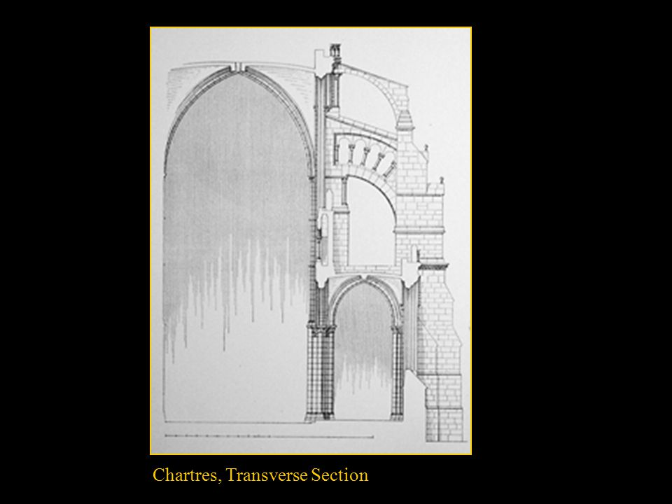 Chartres, Transverse Section