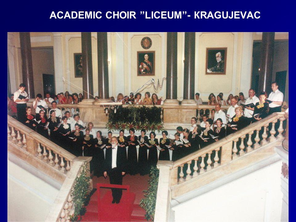 ACADEMIC CHOIR LICEUM - КRAGUJEVAC