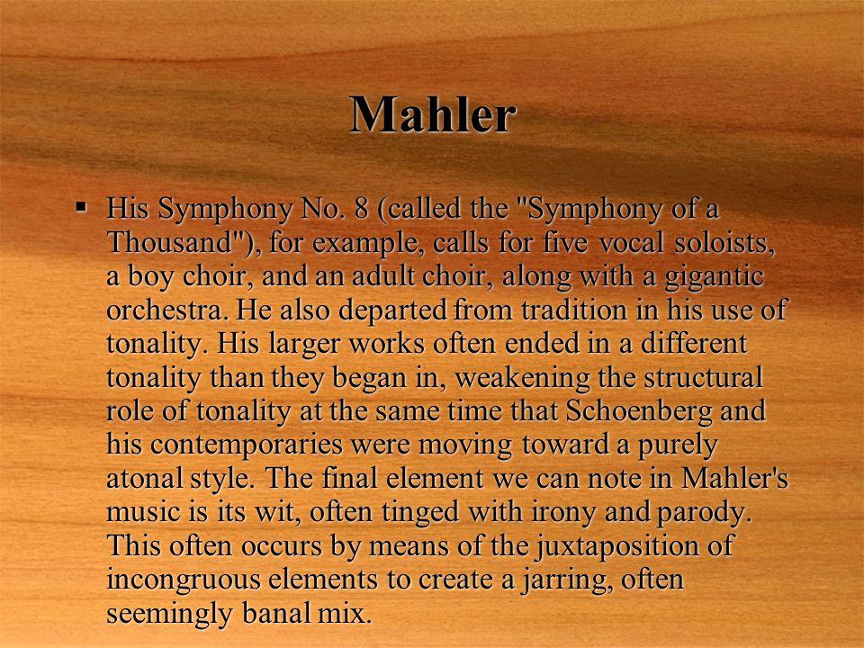 Mahler  His Symphony No.