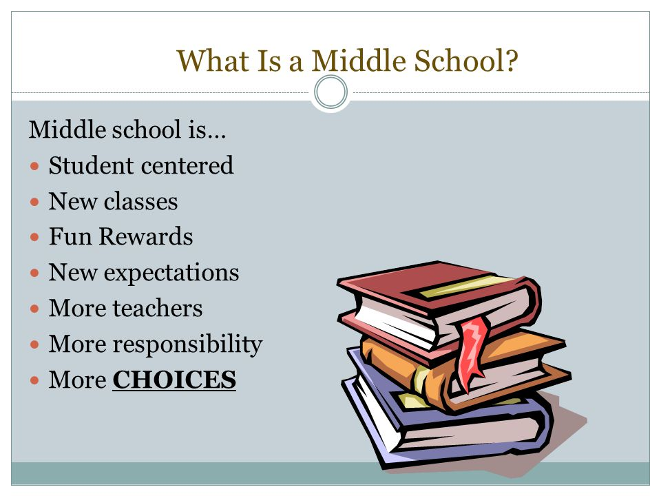 What Is a Middle School.