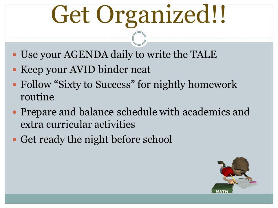 Get Organized!.