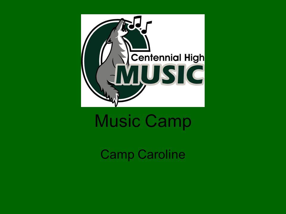 Music Camp Camp Caroline