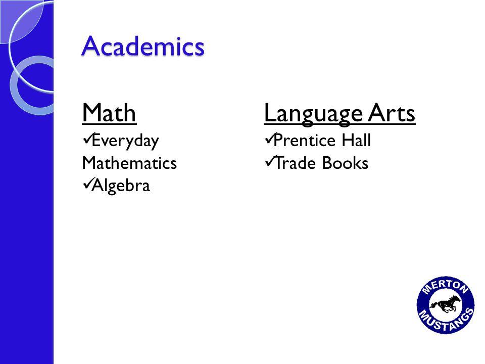 Academics Math Everyday Mathematics Algebra Language Arts Prentice Hall Trade Books