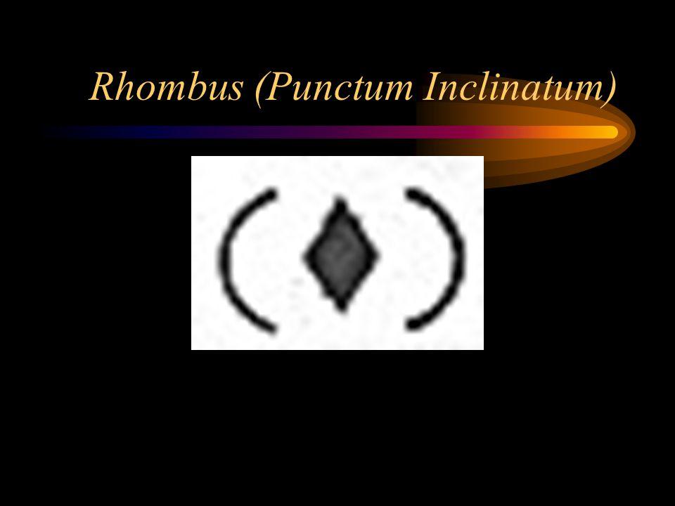 Rhombus (Punctum Inclinatum)