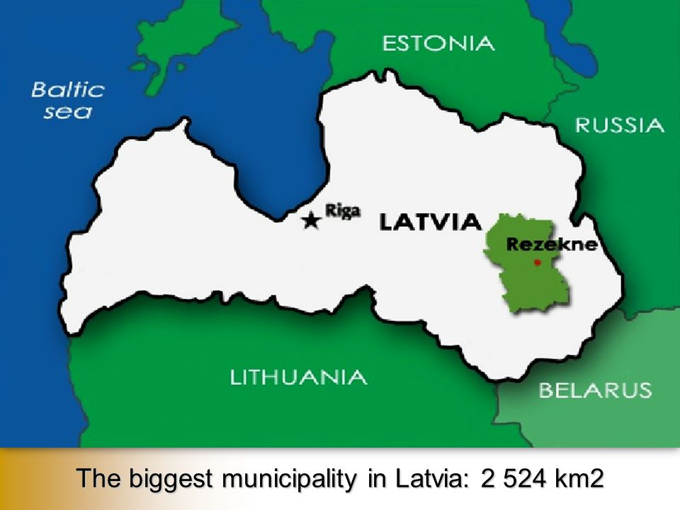 C onsists of 25 rural territories  Population: 31 053 (in July, 2012)  Biggest number of inhabitants in Malta rural territory (3229 people), the smallest in Puša rural territory – (485 people)  57% Latvians, 37% Russians, 6% other nationalities  Located near the Eastern border of the EU with Russia and Belarus