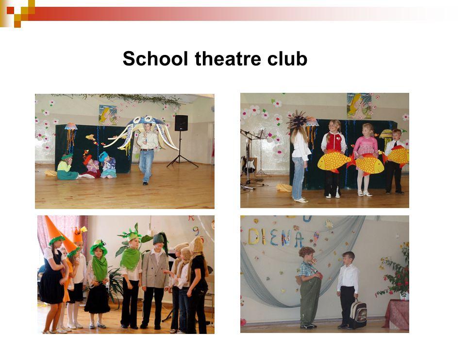 School theatre club