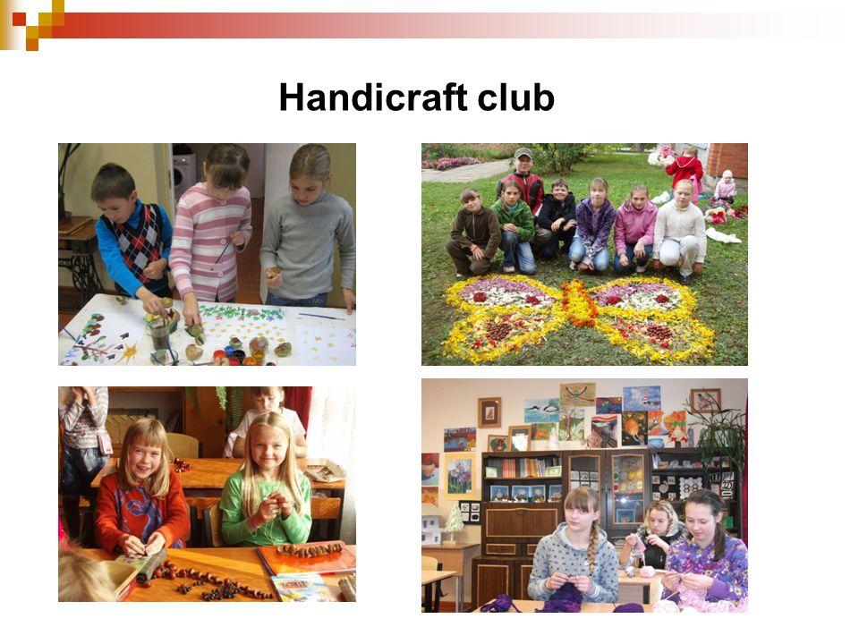 Handicraft club