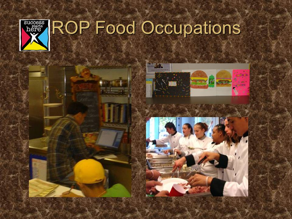 ROP Food Occupations